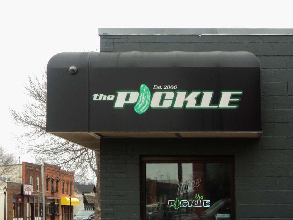 The Pickle - Awning - Eau Claire, WI