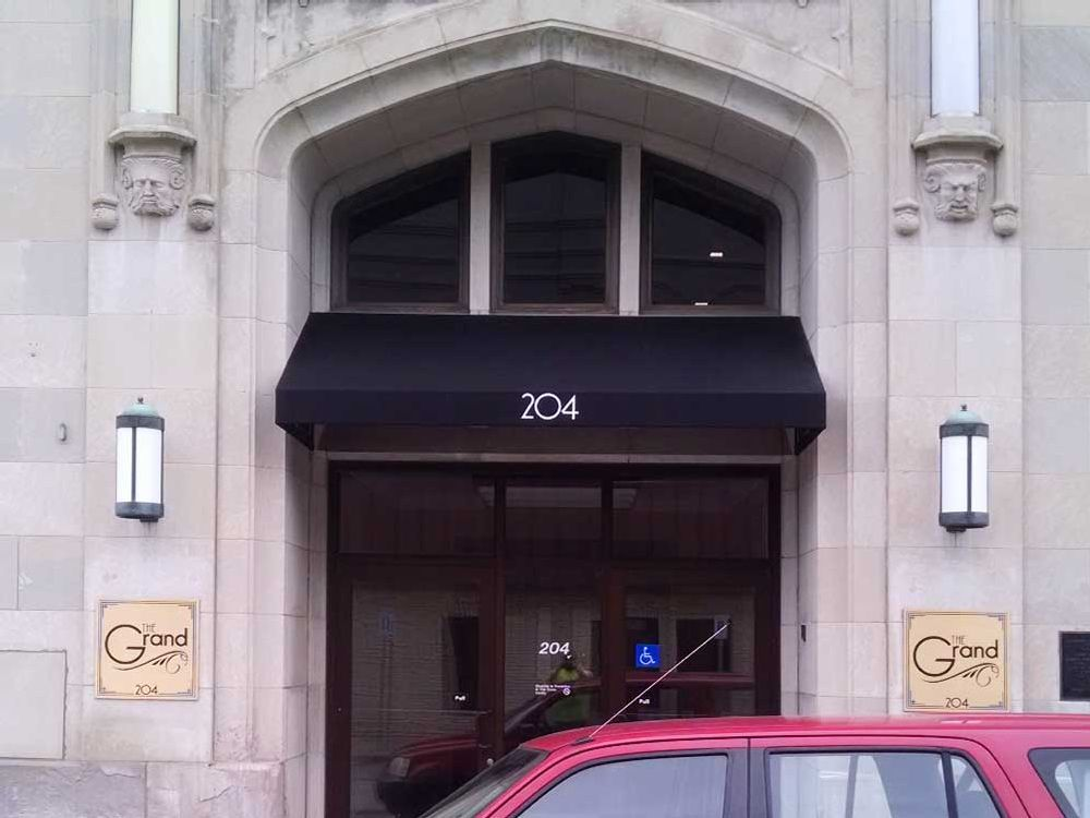 The Grand - Awning - Eau Claire, WI
