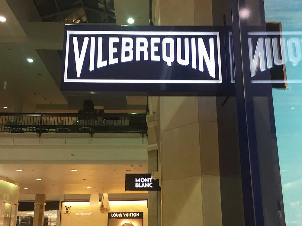 Vilebrequin - Blade Sign - Mall of America Bloomington, MN