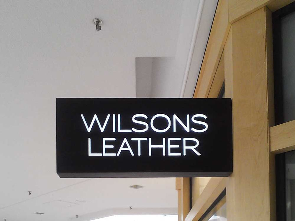 Wilson Leather - Blade Sign - Eagan, MN
