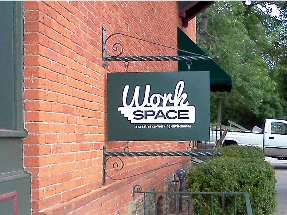 Work Space - Blade Sign - Eau Claire, WI