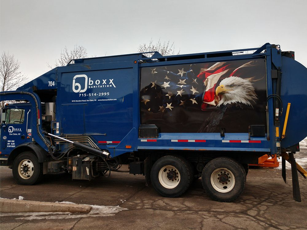 Boxx Sanitation - Vehicle Graphic