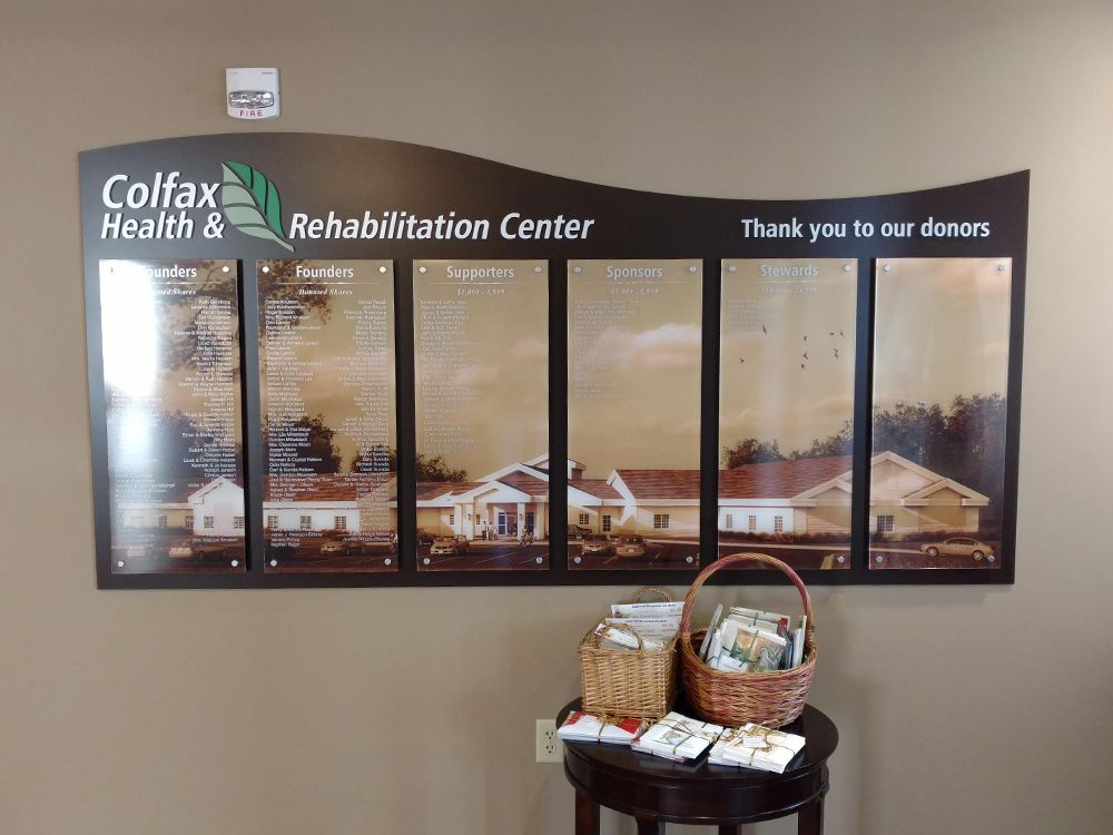 Colfax Health - Wall Graphic