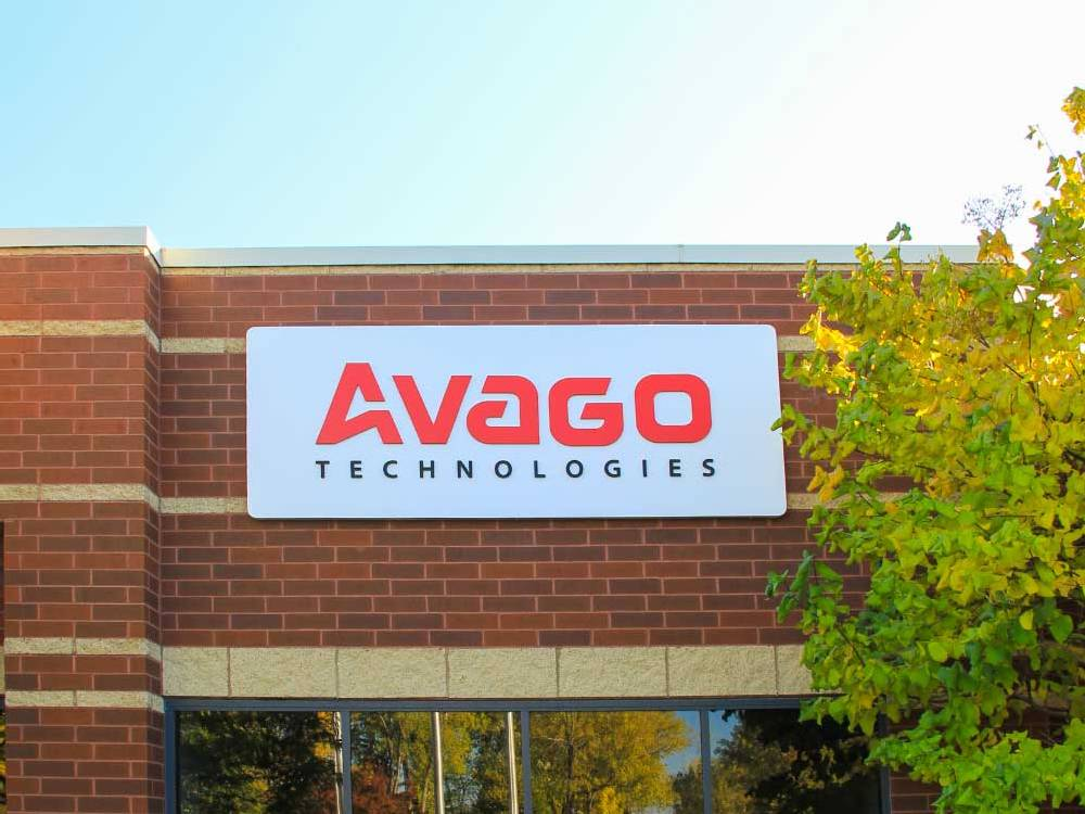 Avago - Building Sign - Mendota Heights, MN
