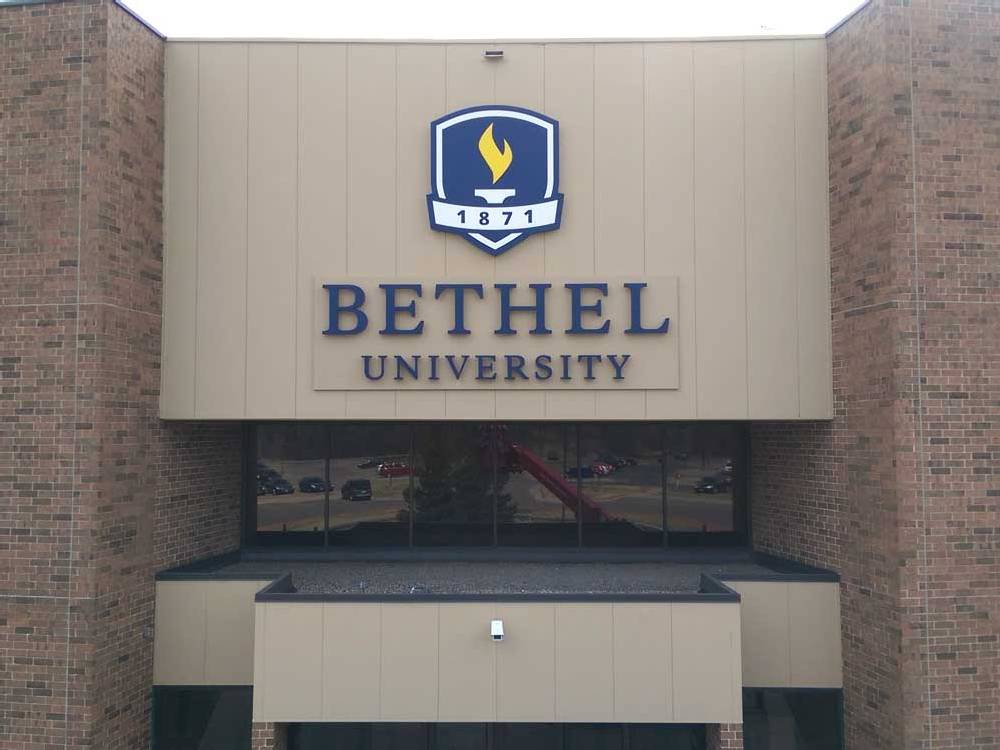 Bethel University - Channel Letters - New Brighton, MN
