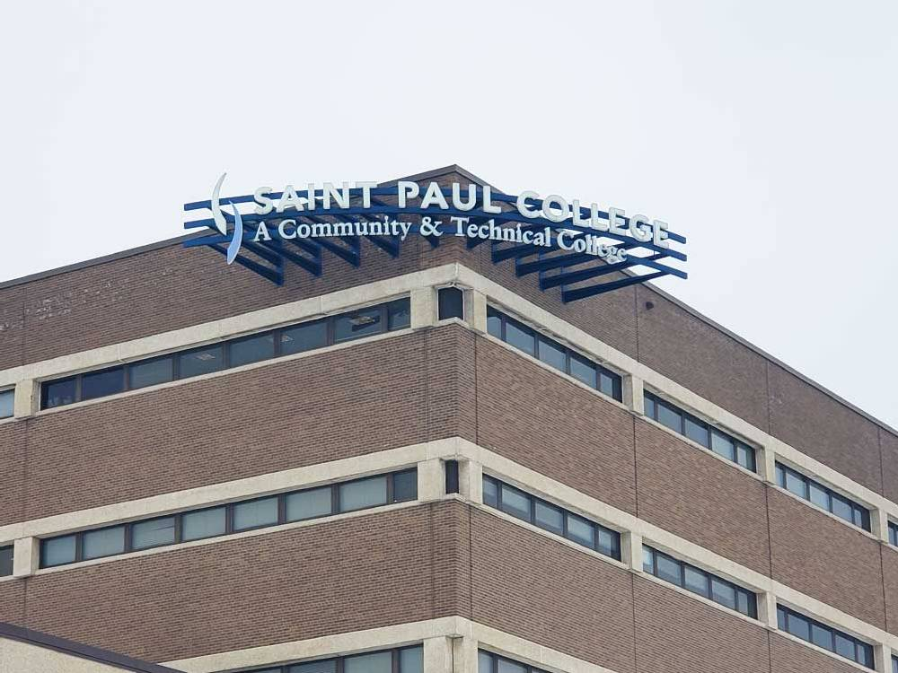 St. Paul College - Channel Letters - St. Paul, MN