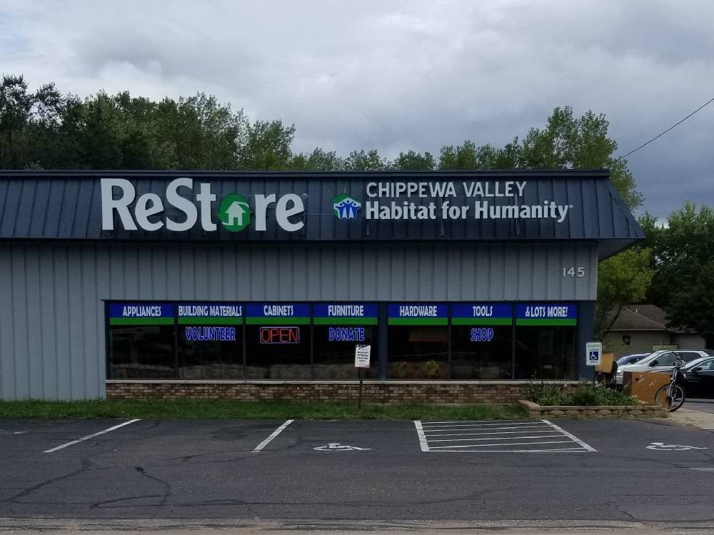 Chippewa Valley Restore - Channel Letters -Eau Claire, WI