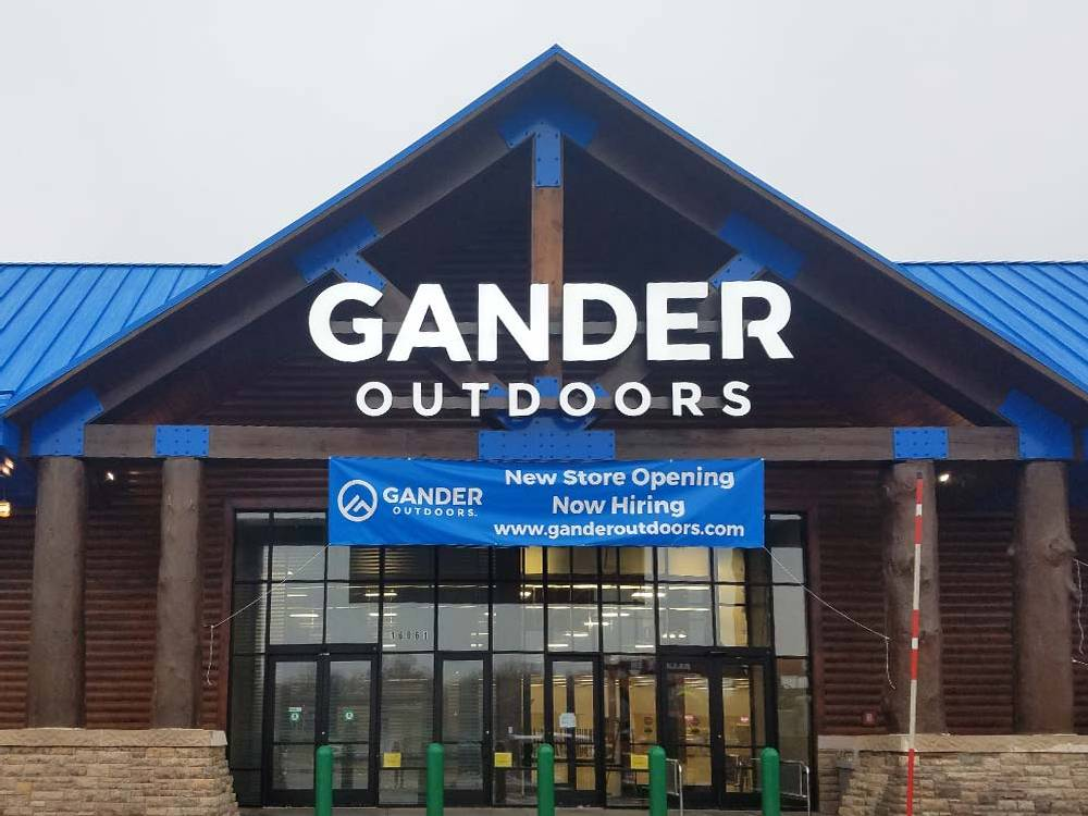 Gander Outdoors - Channel Letters - Lakeville, MN