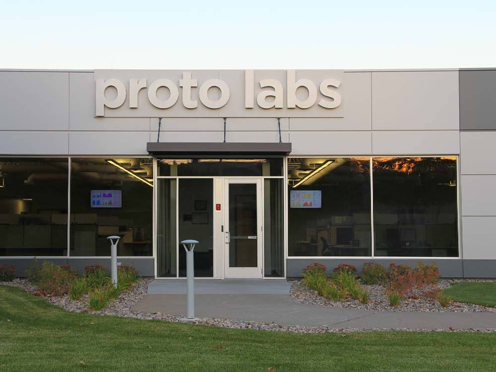 Proto Labs - Channel Letters - Maple Plain, MN