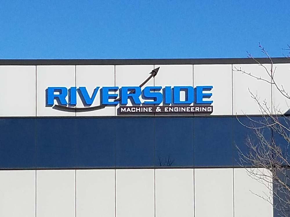 Riverside Machine - Channel Letters - Eau Claire, WI