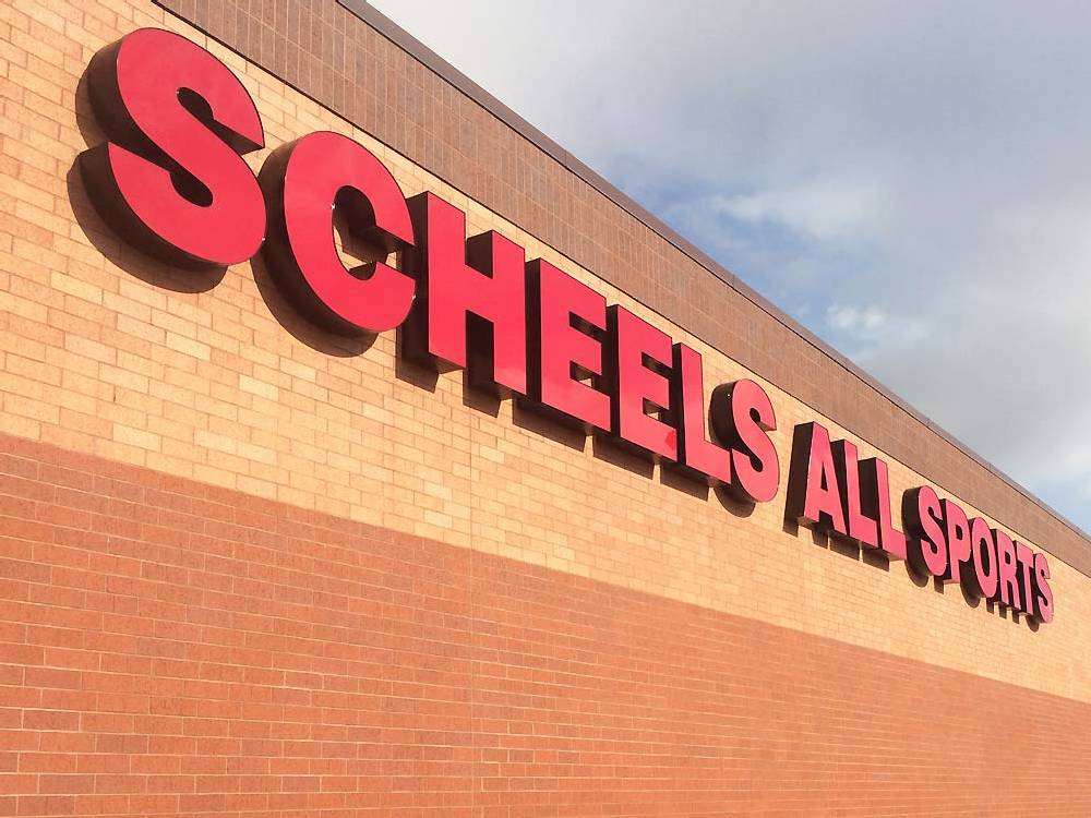 Scheels All Sports - Channel Letters - Eau Claire, WI