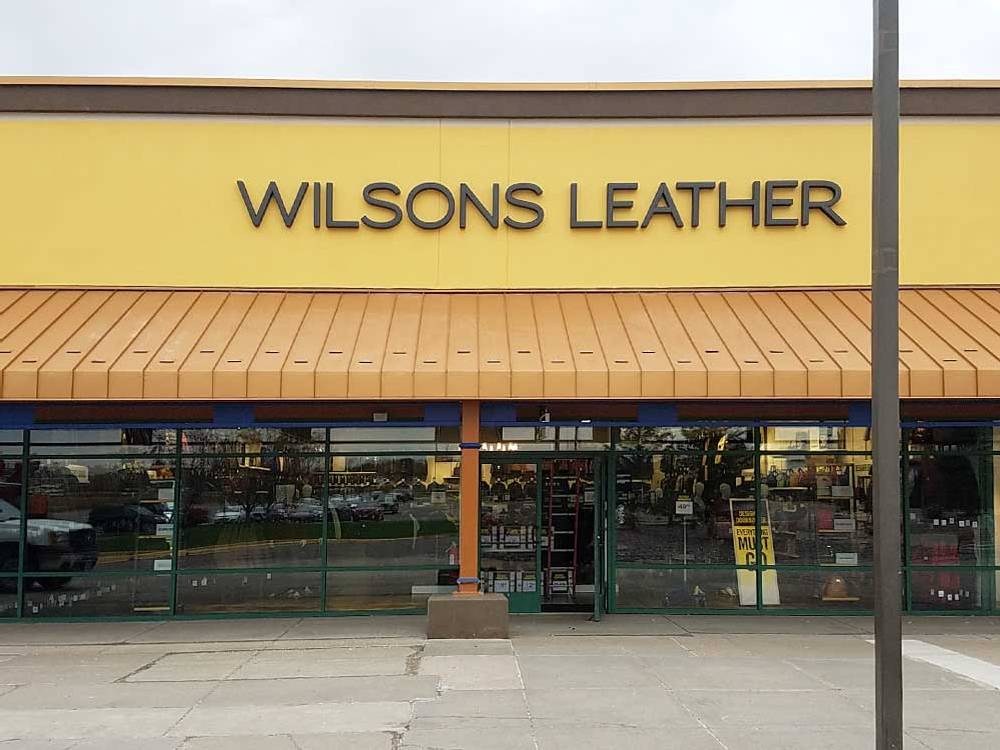 Wilsons Leather - Channel Letters
