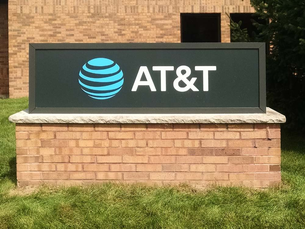 AT&T - Monument Sign - Houston, TX