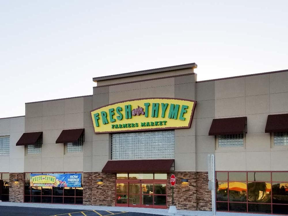 Fresh Thyme - Wall Sign - Geneva, IL