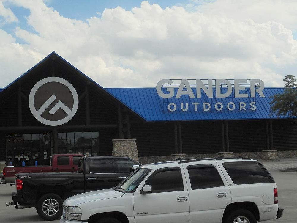 Gander Outdoors - Roof Mounted Channel Letters - Spring, TX