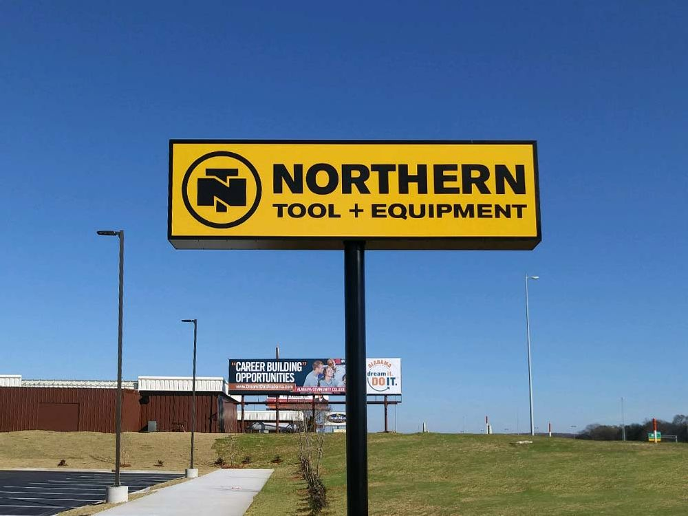 Northern Tool & Equipment - Pylon Sign - Huntsville, AL
