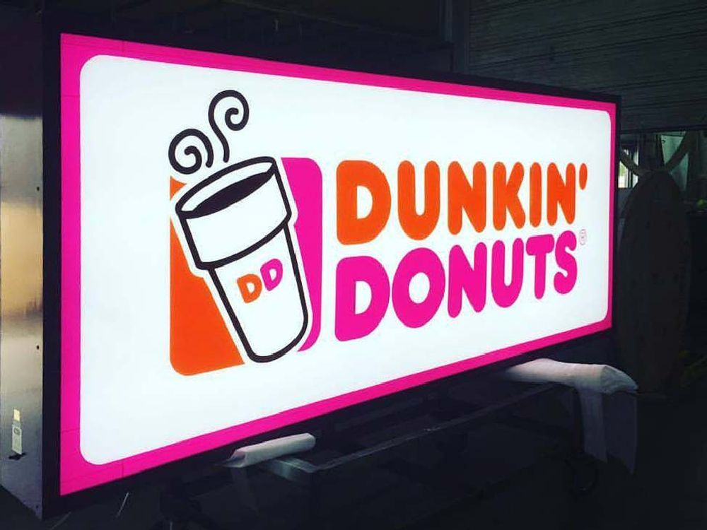 Dunkin' Donuts - Cabinet Sign Shop Photo - Eau Claire, WI