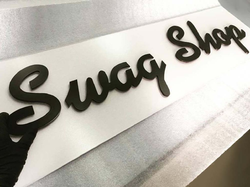 Swag Shop - Custom Letters -jamf Minneapolis, MN