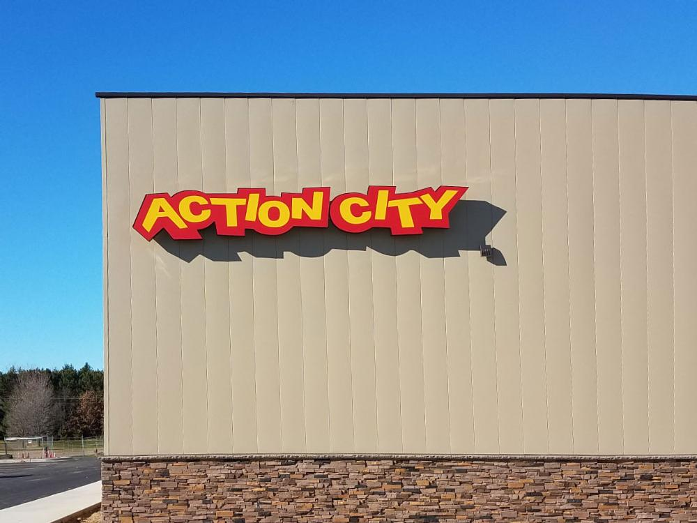 Action City - Building Sign - Eau Claire, WI