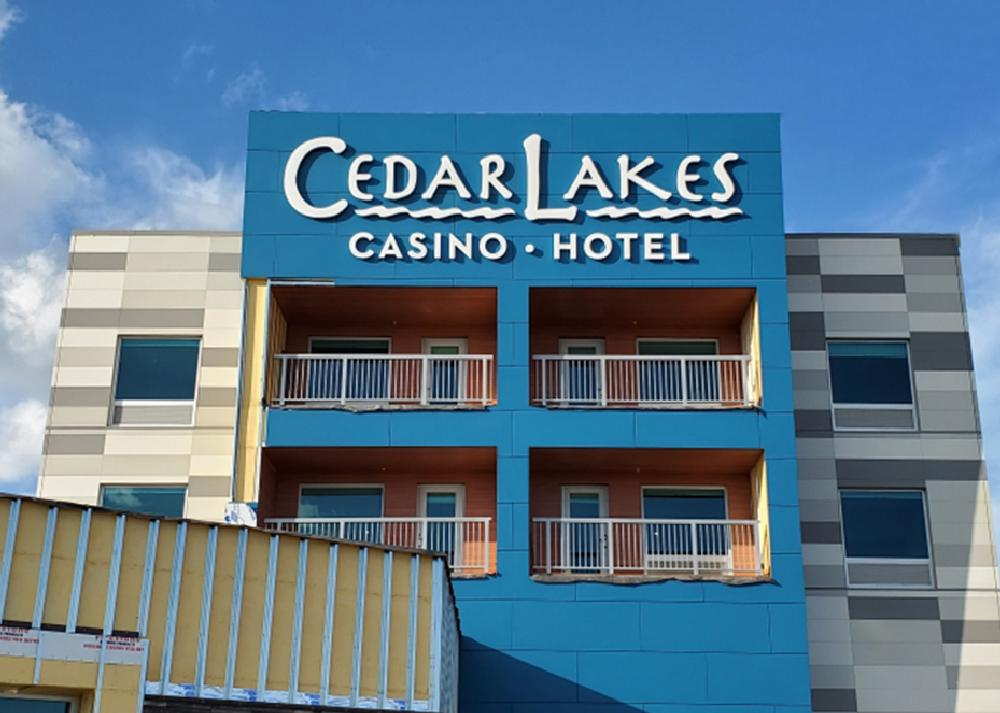 Cedar Lakes Casino & Hotel - Channel Letters - Cass Lake, MN