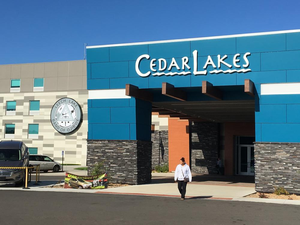 Cedar Lakes Casino & Hotel - Hotel Entrance - Cass Lake, MN