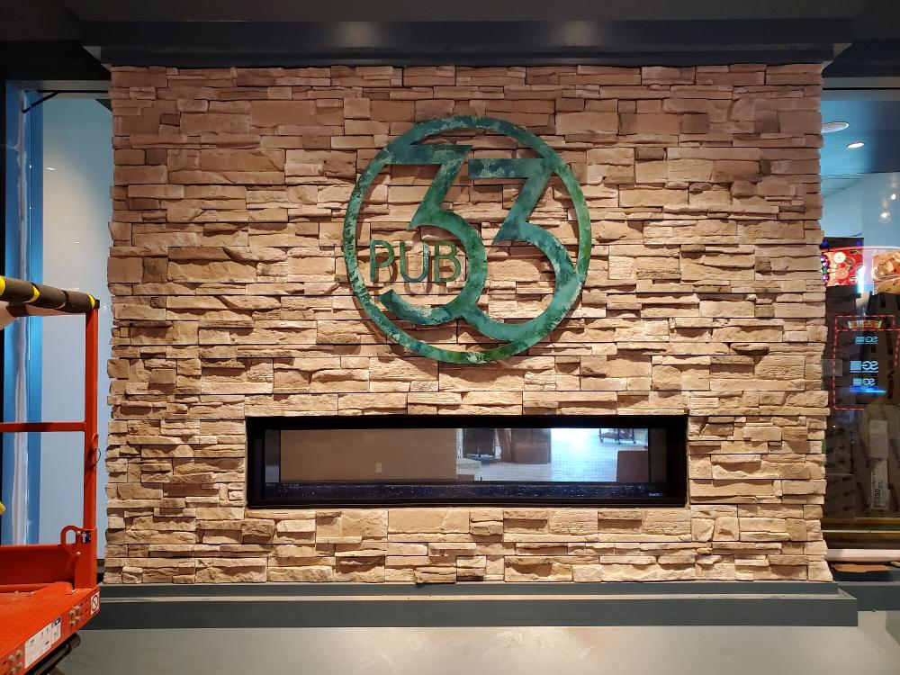 Cedar Lakes Casino & Hotel -Pub 33 Interior Sign - Cass Lake, MN