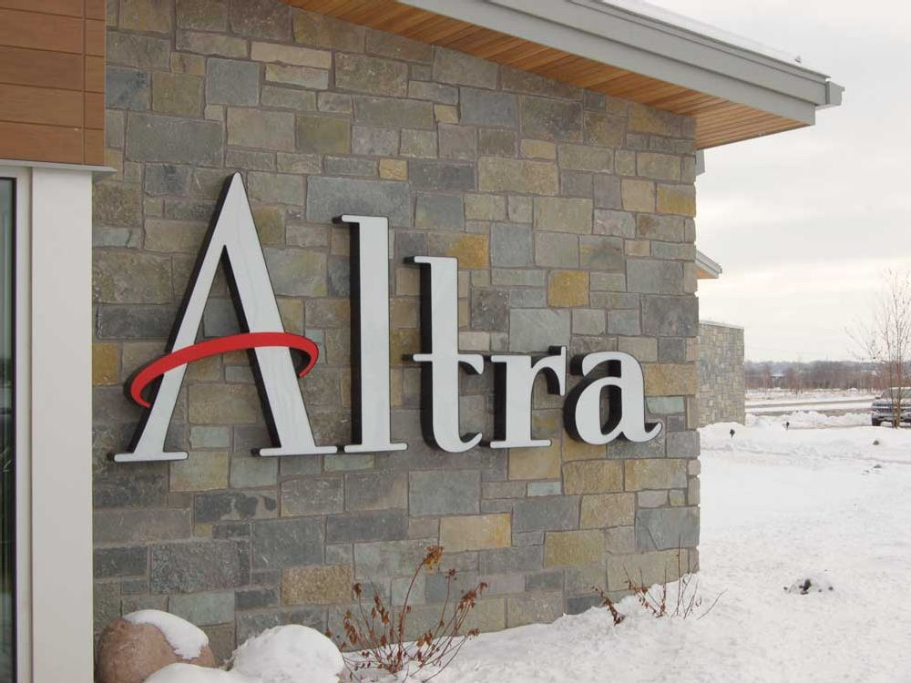 Altra - Building Sign