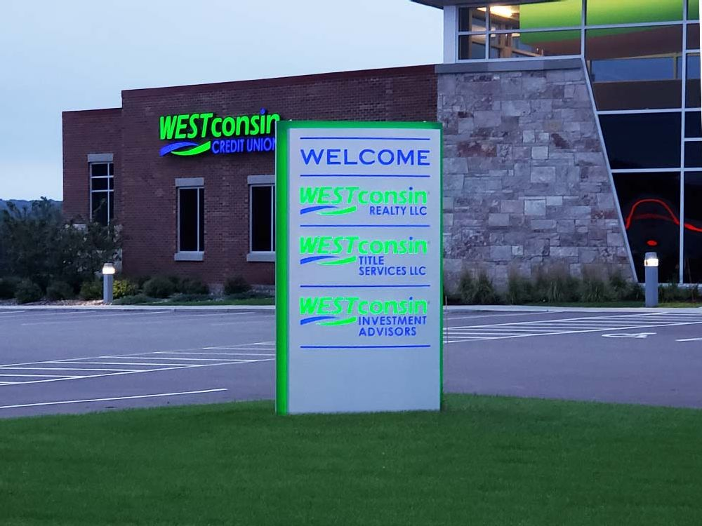 Westconsin Credit Union - Monument Sign