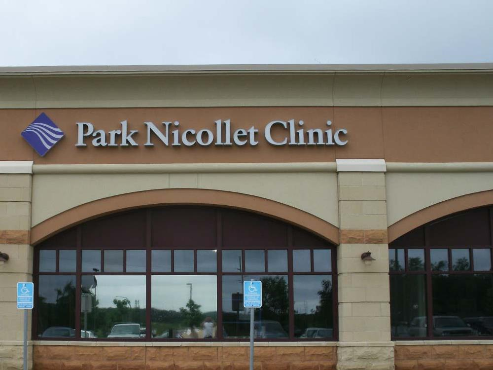 Park Nicollet - Building Sign