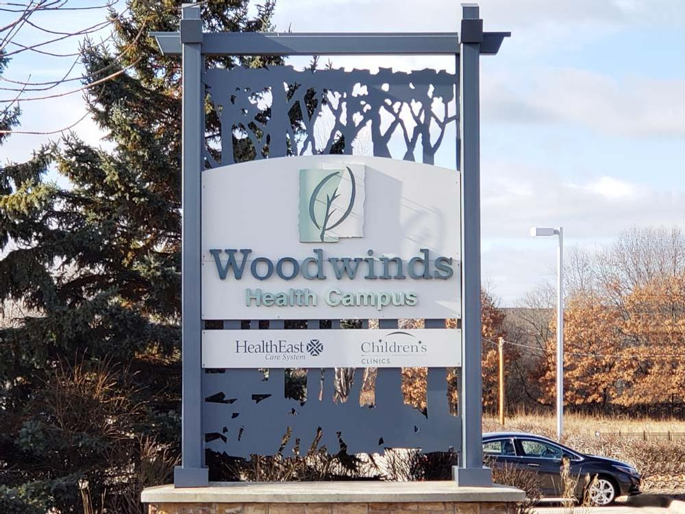 Woodwinds - Monument Sign - Woodbury, MN