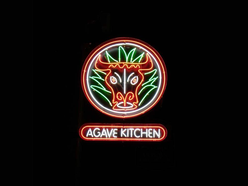 Agave Kitchen - Neon Sign