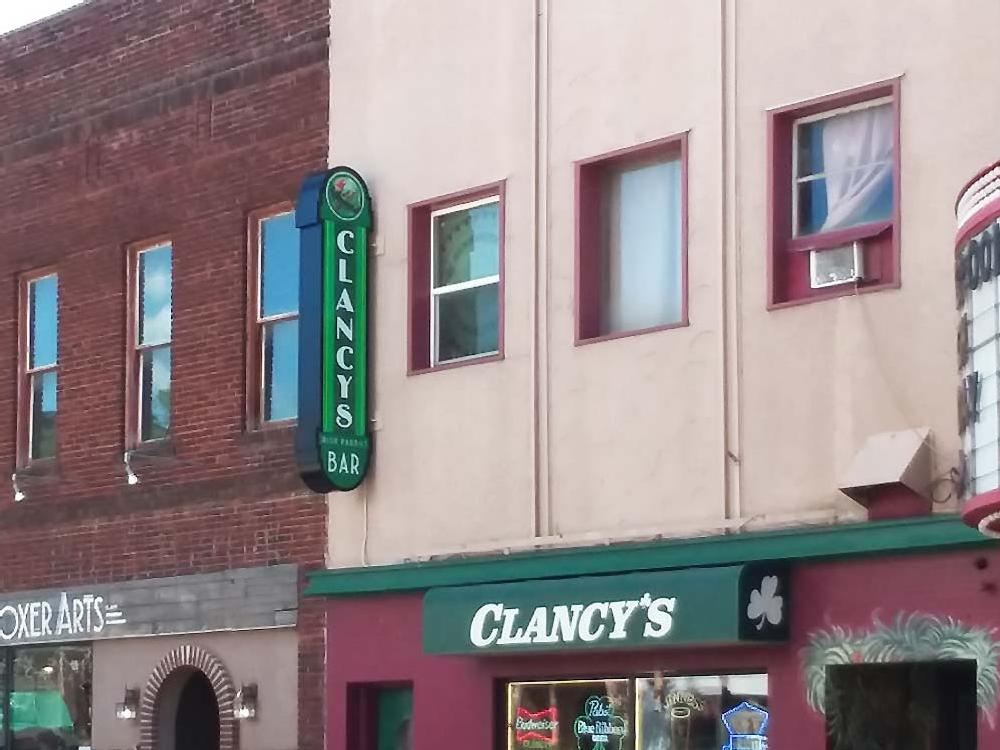 Clancy's - Blade Sign - Eau Claire, WI