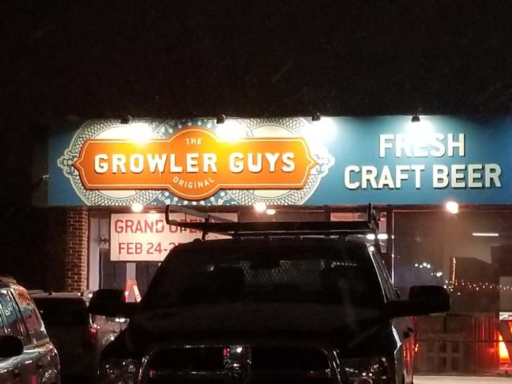 Growler Guys - Custom Sign - Eau Claire, WI