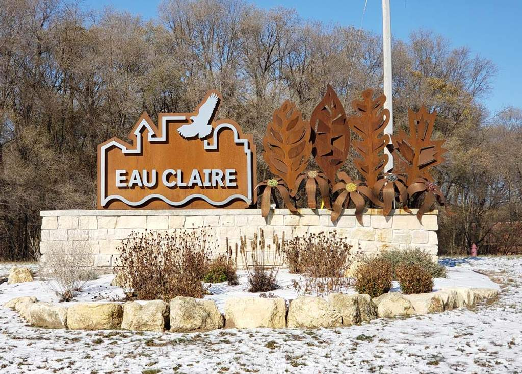 City of Eau Claire - Monument Sign - Wisconsin