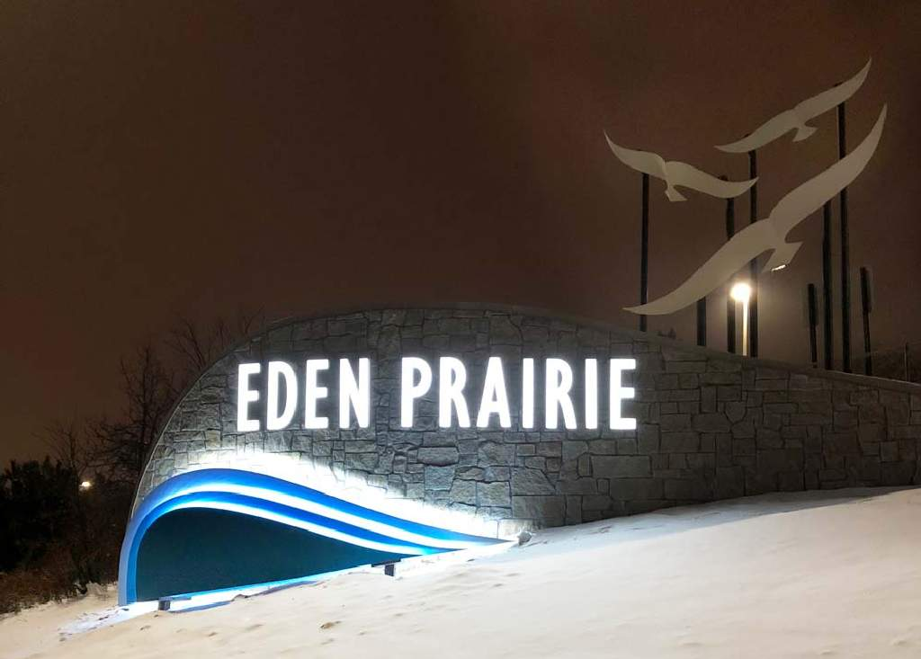 Eden Prairie - Monument Sign - Minnesota