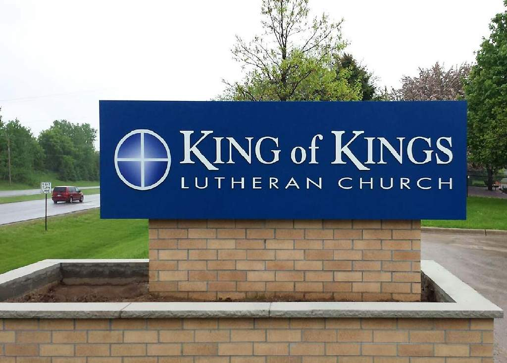 King of Kings Church - Monument Sign