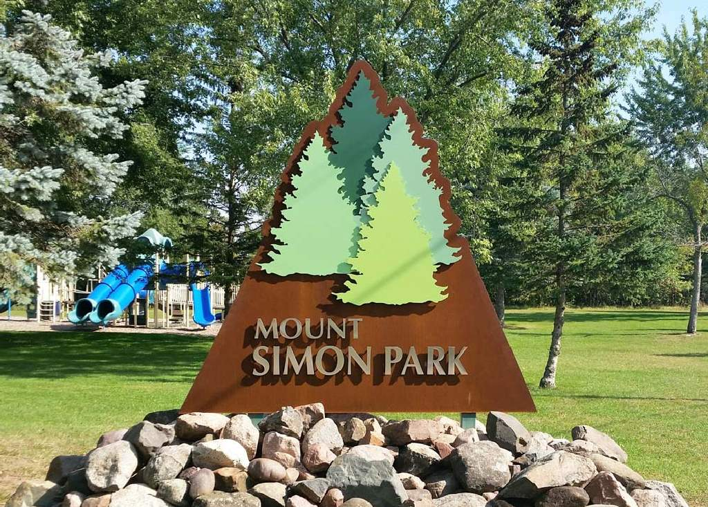 Mount Simon Park - Monument Sign