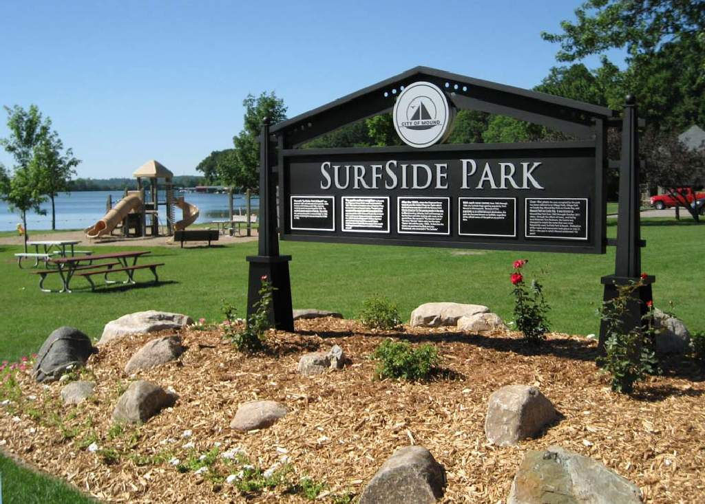Surfside Park - Monument Sign