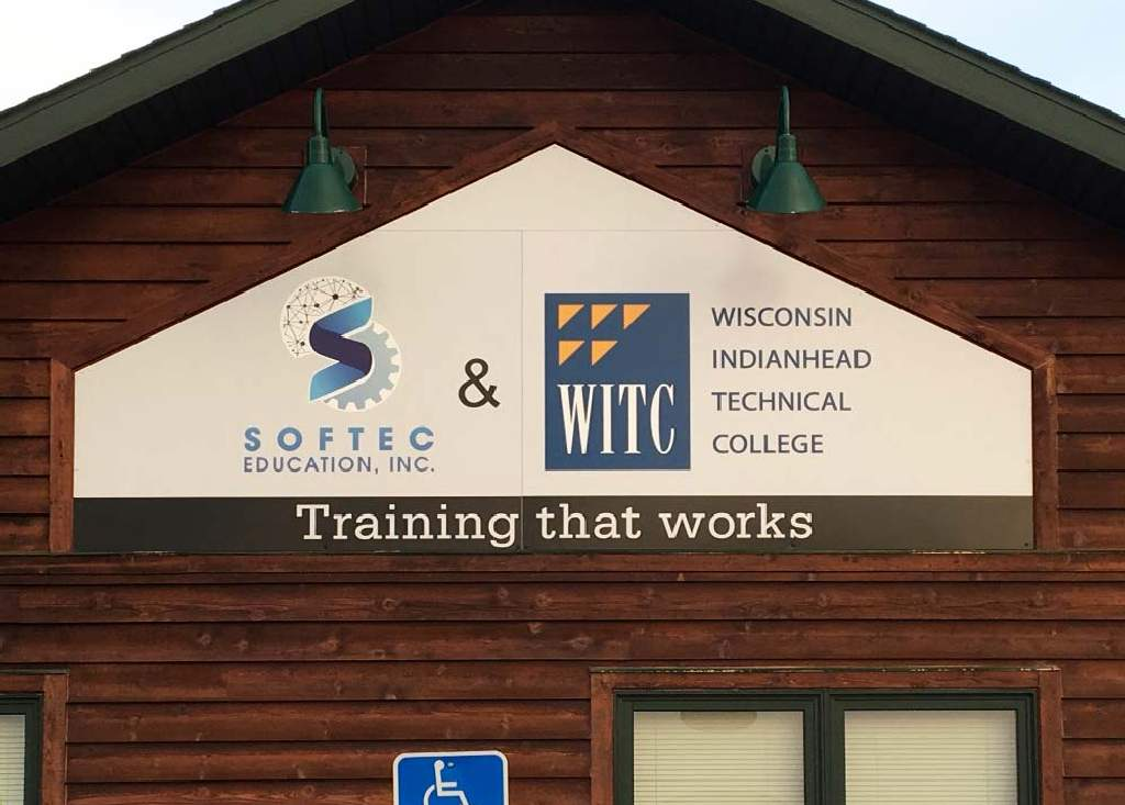 WTIC - Building Sign