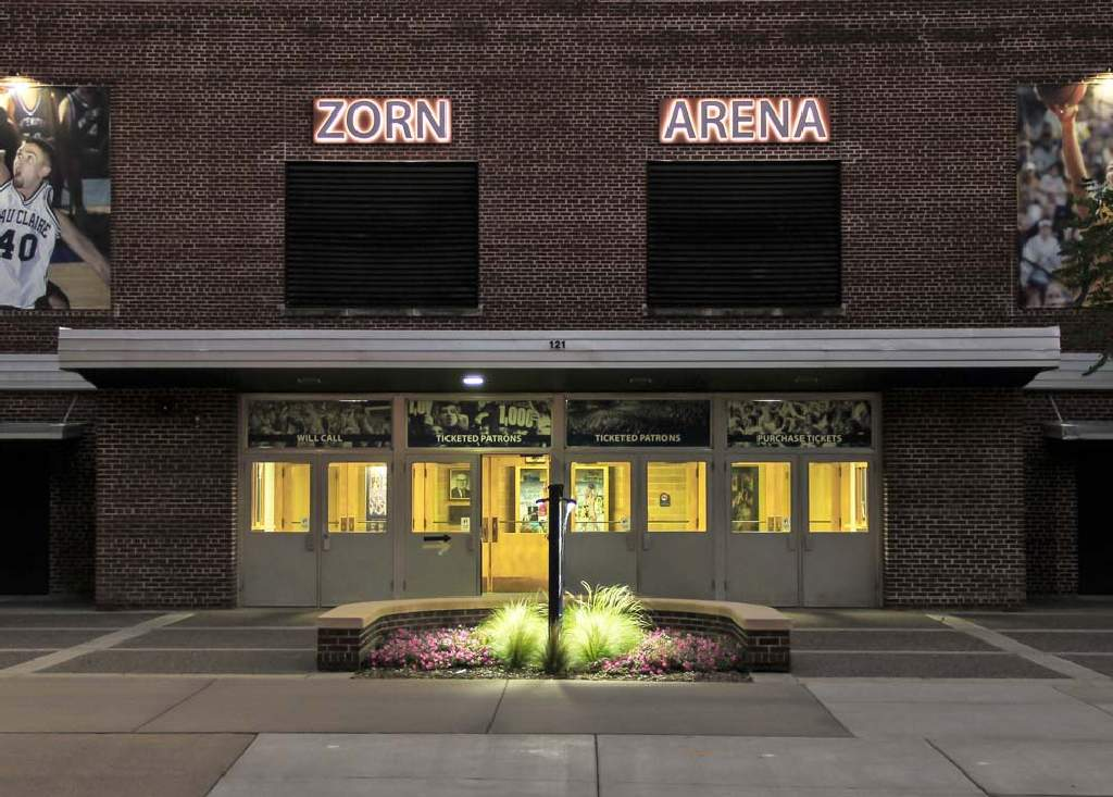 Zorn Arena - Backlit Sign - Eau Claire, WI