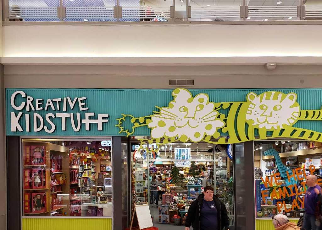Creative Kidstuff - Interior Signs - Mall of America  Bloomington, MN