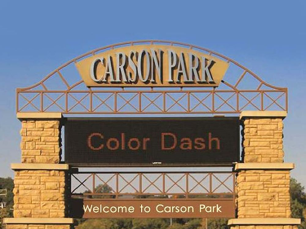 Carson Park - Digital Sign