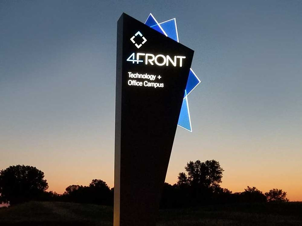 4Front - Pylon Sign