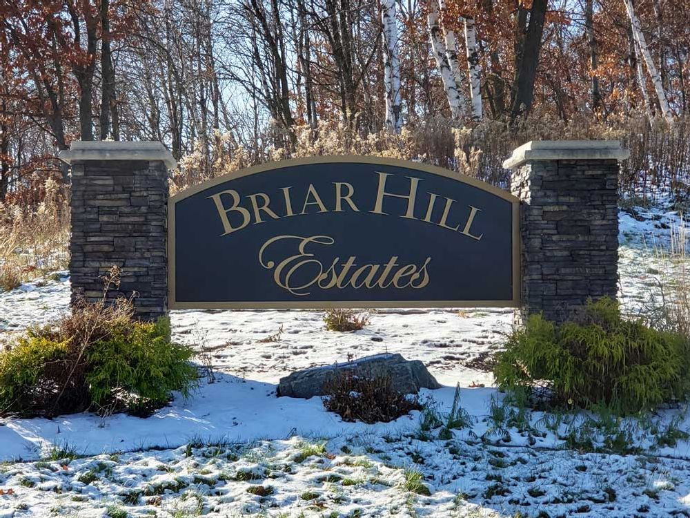 Briar Hill Estates - Monument Sign - Eau Claire, WI