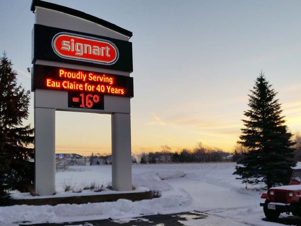 Sign Art - Digital Sign - Eau Claire, WI