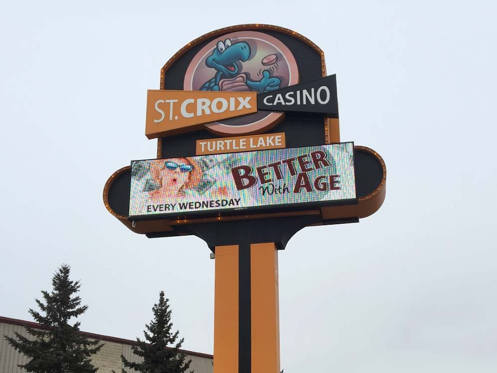 St. Croix Casino - Digital Sign - Turtle Lake, MN