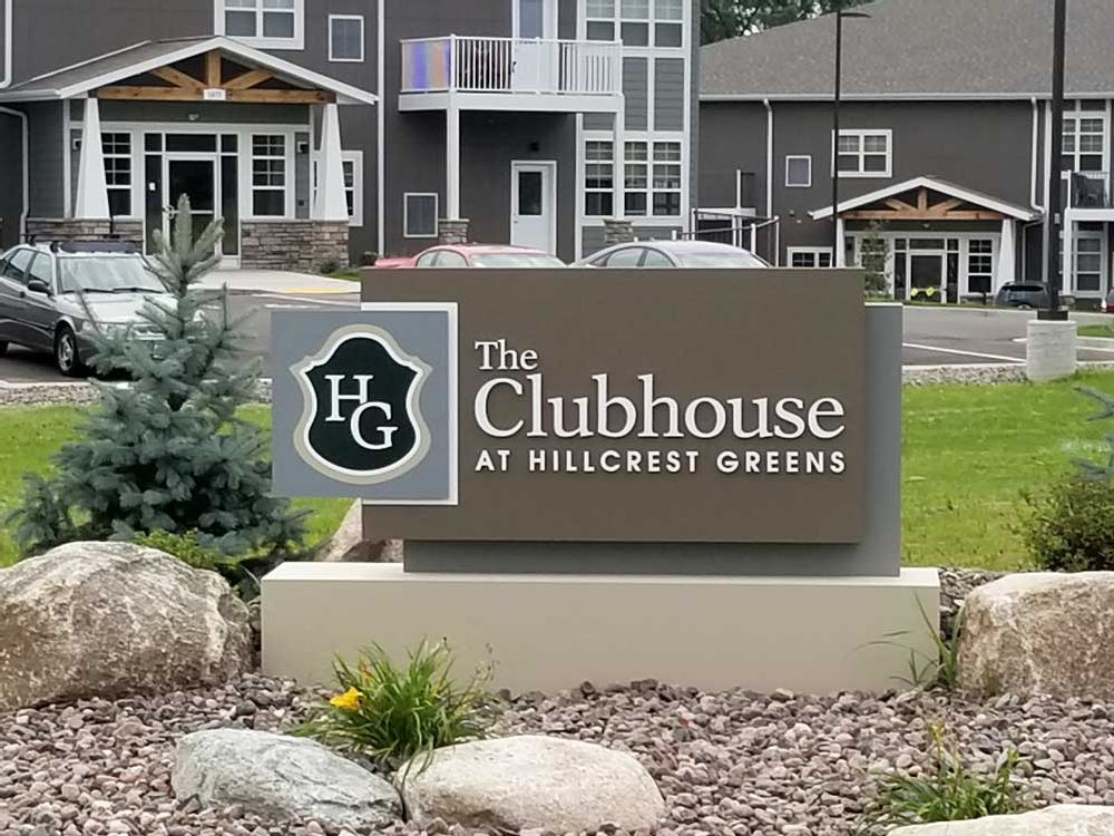The Clubhouse - Monument Sign - Altoona, WI