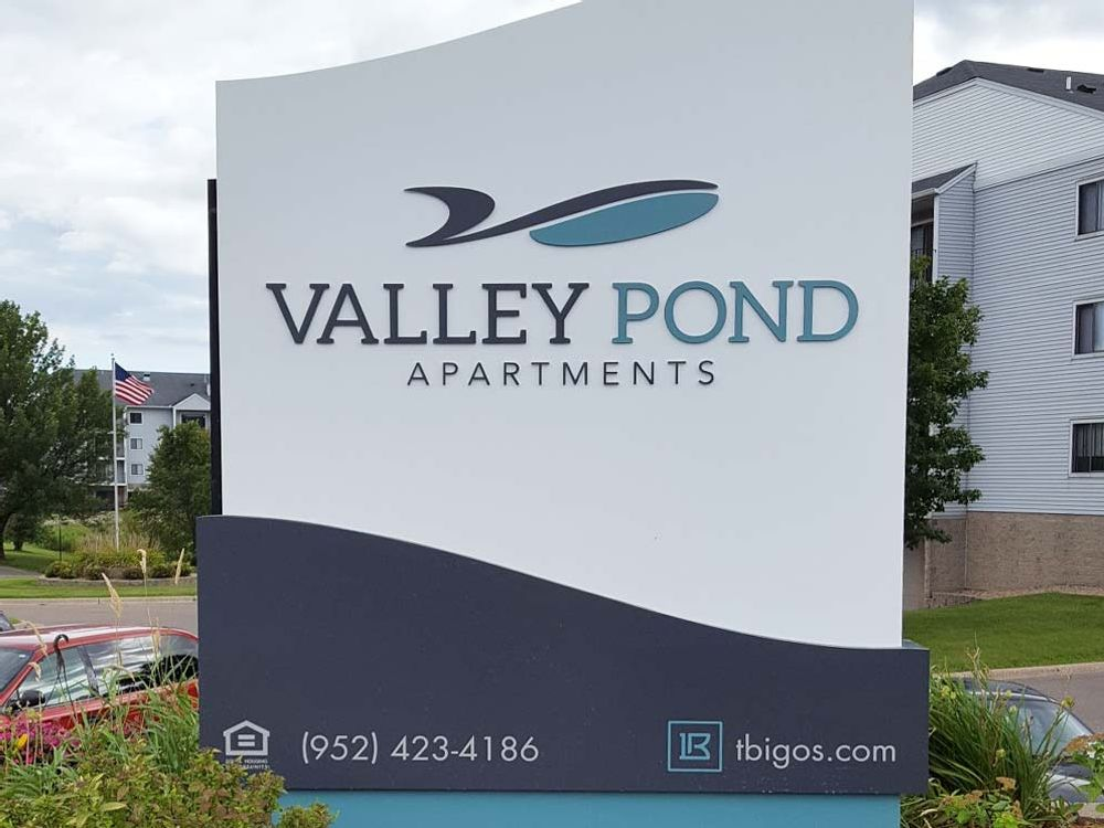 Valley Pond Apartments - Monument Sign - Apple Valley, MN