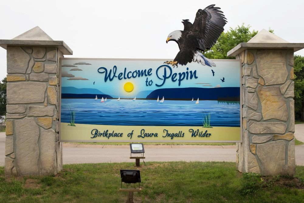 Village of Pepin - Monument Sign - Pepin, WI